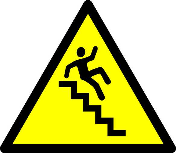 Falling down the Stairs
