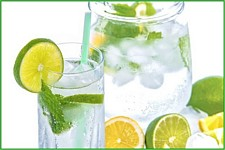 Lemon-lime-water