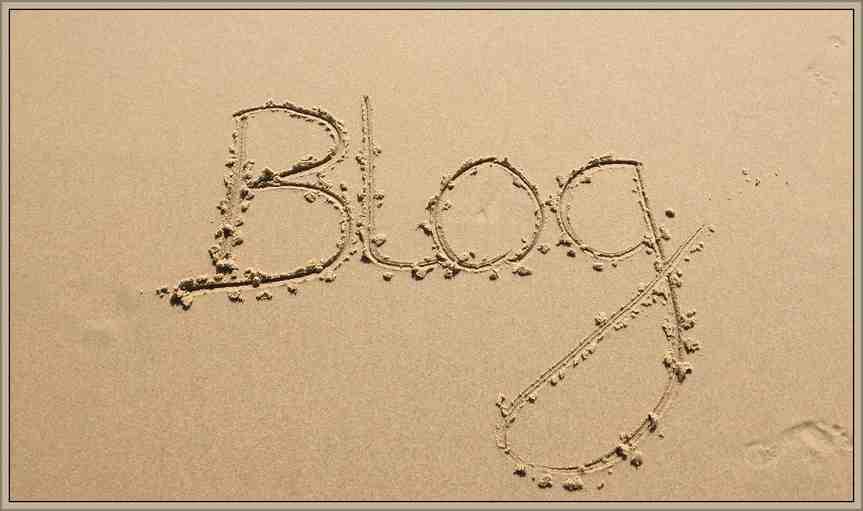 Blog-on-beach