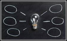 Light bulb & Mindmap