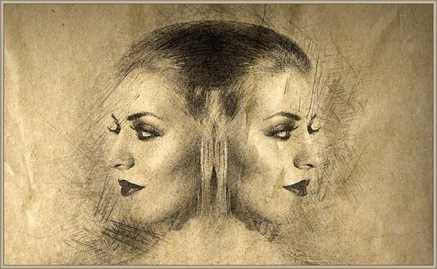 Janus-woman